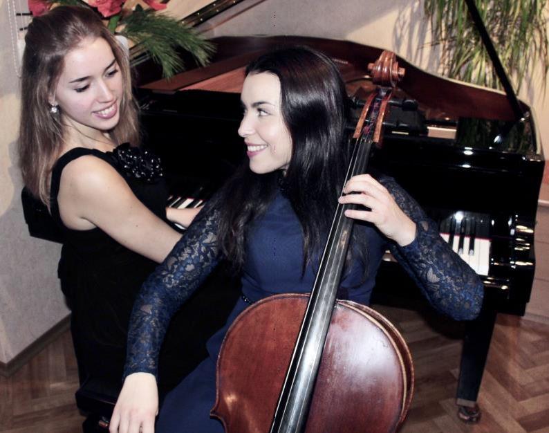 Natalia Dauer, Cello, Julia Pleninger, Piano